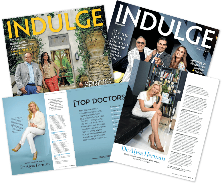 Indulge Magazine feature of Dr. Alysa Herman