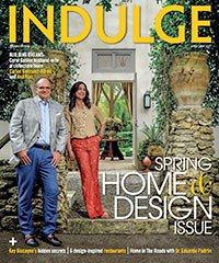 Cover of Indulge Magazine