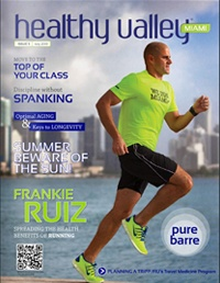 Healthy Valley Magazine cover