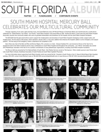 The Miami Herald article on the South Miami Hospital Mercury Ball