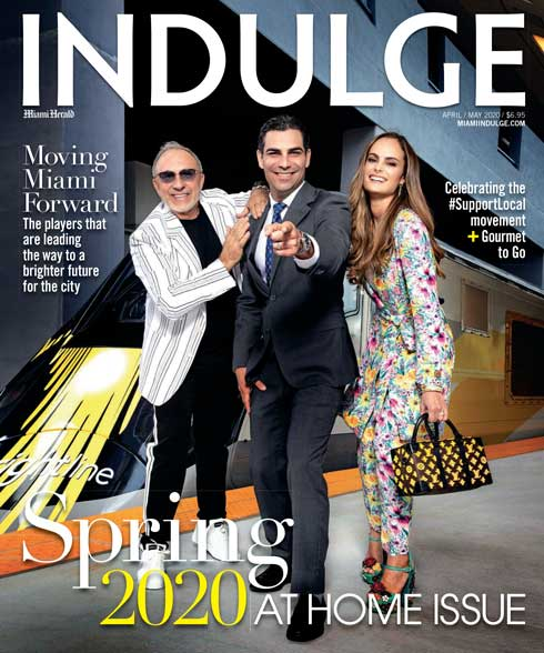 Cover of Indulge Magazine 2020